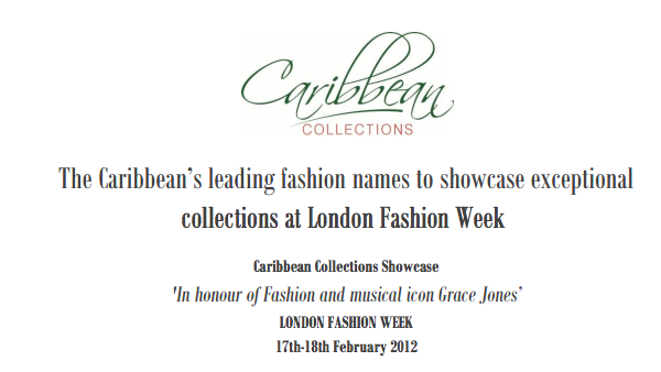 Caribbean Collections at London Fashion Week