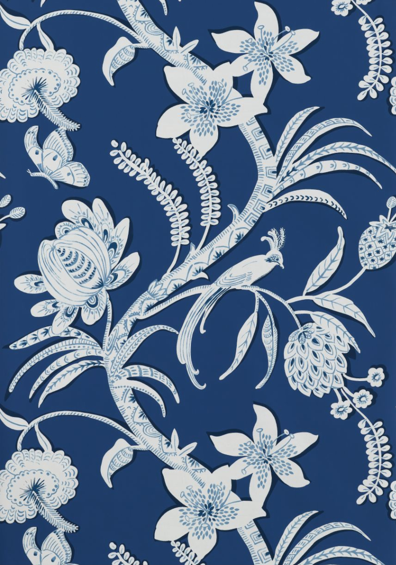 Knight Moves: Thibaut's Wonderful World of Wallpaper and Fabric