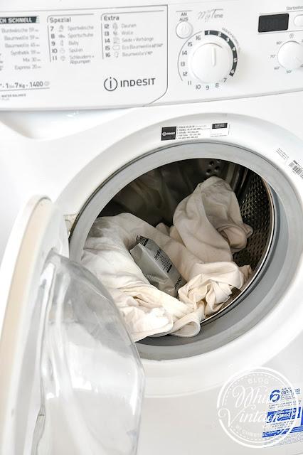 Einfaches Färben von Textilien in der Waschmaschine.
