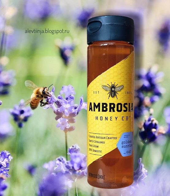 Madhava Natural Sweeteners, Pure & Raw Honey, Golden Sunrise, 12 oz (340 g)