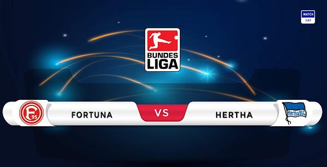 Fortuna Dusseldorf vs Hertha Berlin Prediction & Match Preview