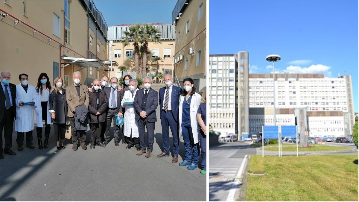 donazione tablet Ospedale Cannizzaro Associazione ex Alunni