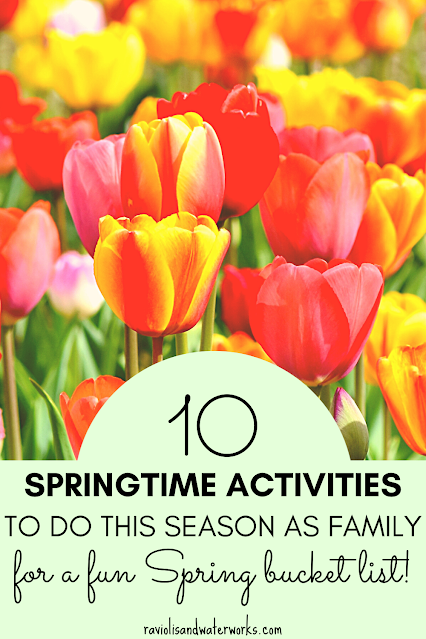 Ten fun, family friendly activities to do this spring