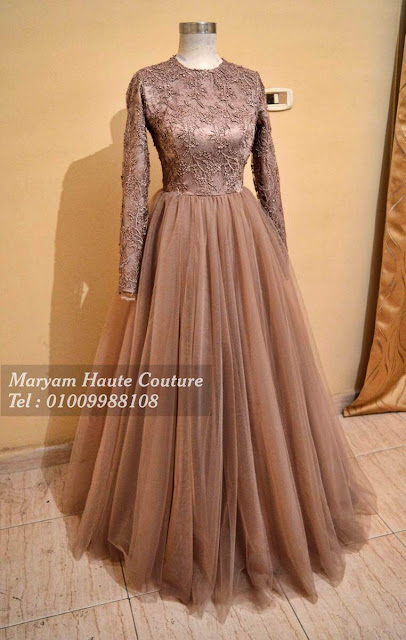 Hijab soiree Dresses 2019
