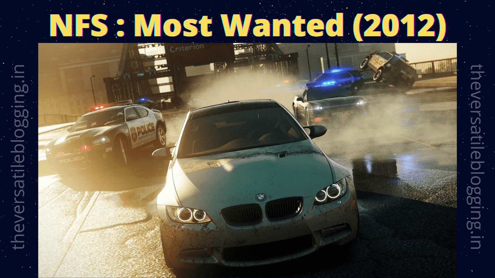 Best Car Racing Games For Windows 7 | NFS:Most Wanted (2012)