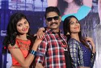Haranath Policherla Mounika Nishi Ganda Pos at Tick Tock Telugu Movie Trailer Launch Event  0037.jpg