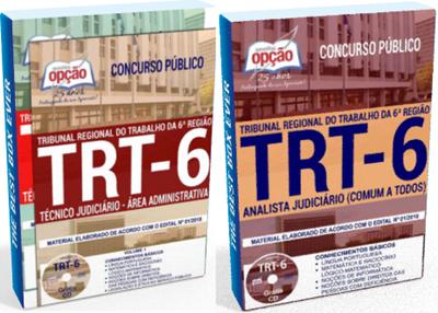 Apostila do concurso TRT 6ª Região 2018