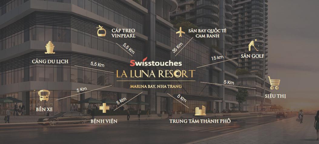 Liên kết vùng dự án La Luna Nha Trang