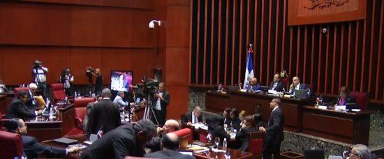 No fue sometido el proyecto de reforma constitucional en sesión hoy del Senado