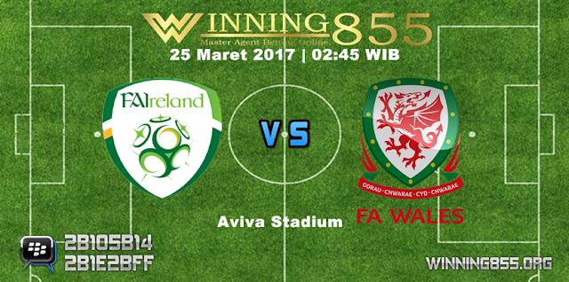 Prediksi Skor Republik Irlandia vs Wales 25 Maret 2017