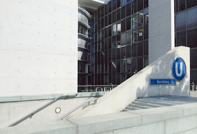 Bundestag Area near my Office Building