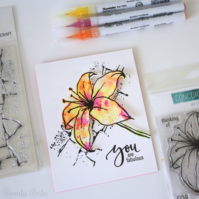 Concord & 9th - Lilly stamp set