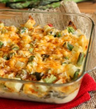 Cheesy Potatoes And Asparagus 10