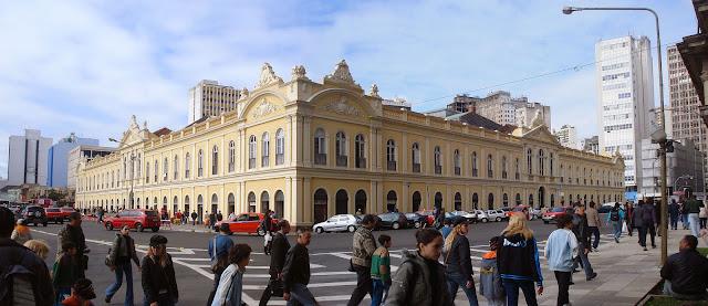 Mercado Público Central de Porto Alegre.