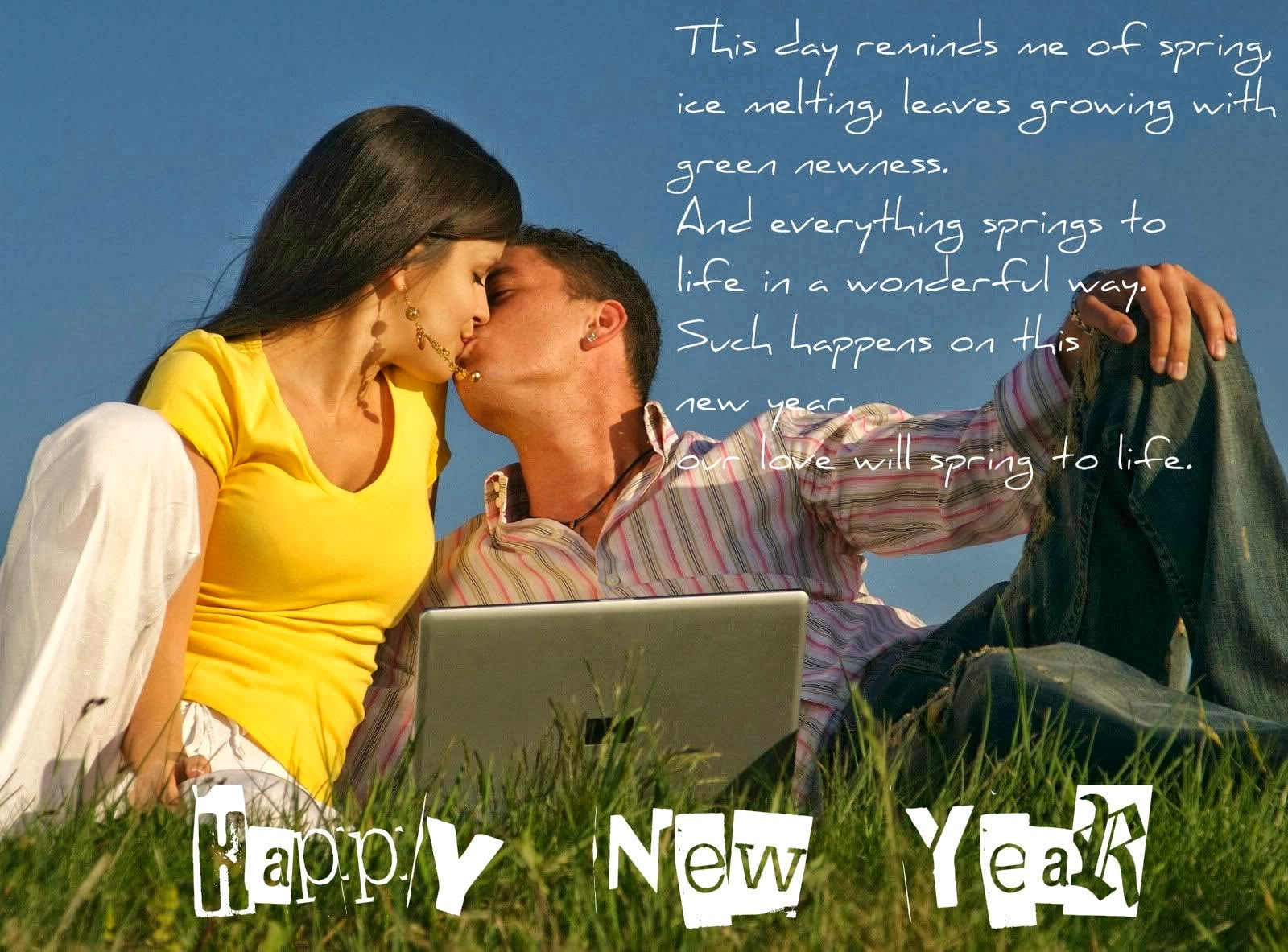 Happy New Year 2016 for girlfriend