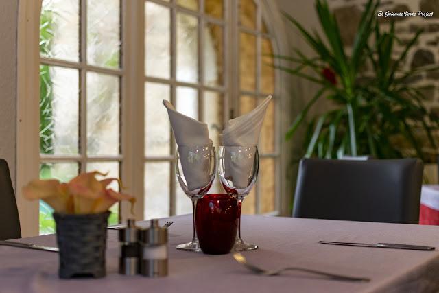 Hotel Le Pradinas, restaurante, Mialet - Francia, por El Guisante Verde