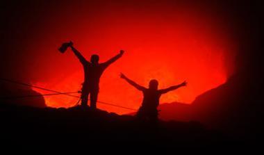 Ταξίδι στον κρατήρα ενός ηφαιστείου