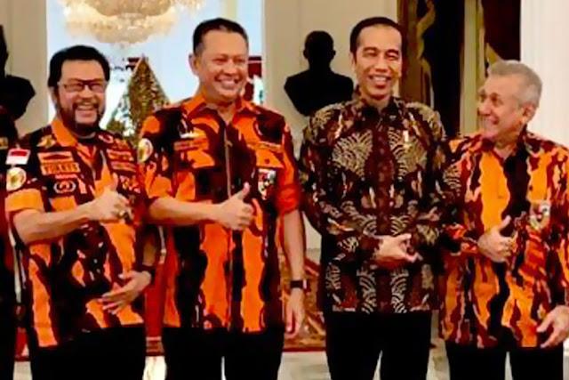 Pemuda Pancasila: Jangan Coba-Coba Ganggu Jokowi