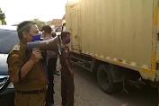 Muspika Peringatkan Pemberlakuan PSBB di Pasar Wadas, Berikut Videonya