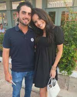 Abraham Ancer With His Girlfriend Nicole Curtright