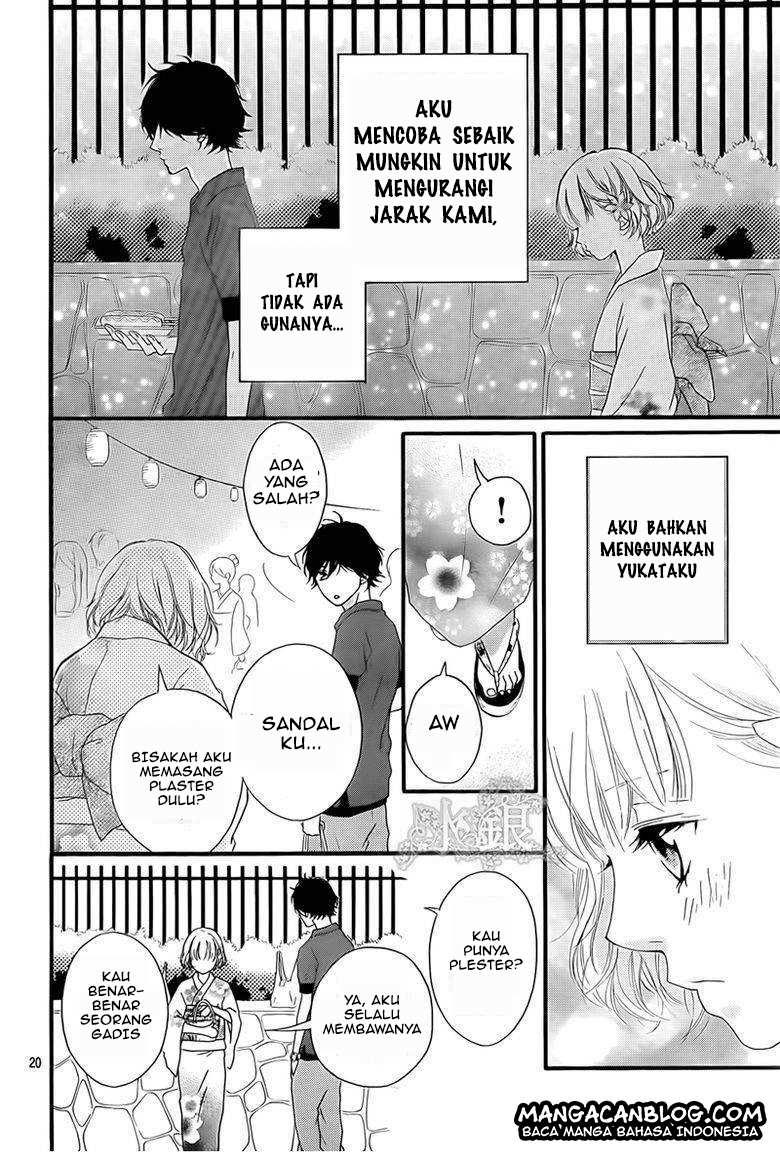 Ao Haru Ride Chapter 15-21