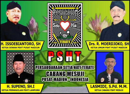 Lasmidi, M.Pd (Ketua Cabang PSHT Mesuji)