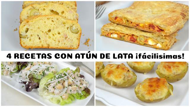 4 Recetas Con Atún De Lata ¡fáciles Y Deliciosas!