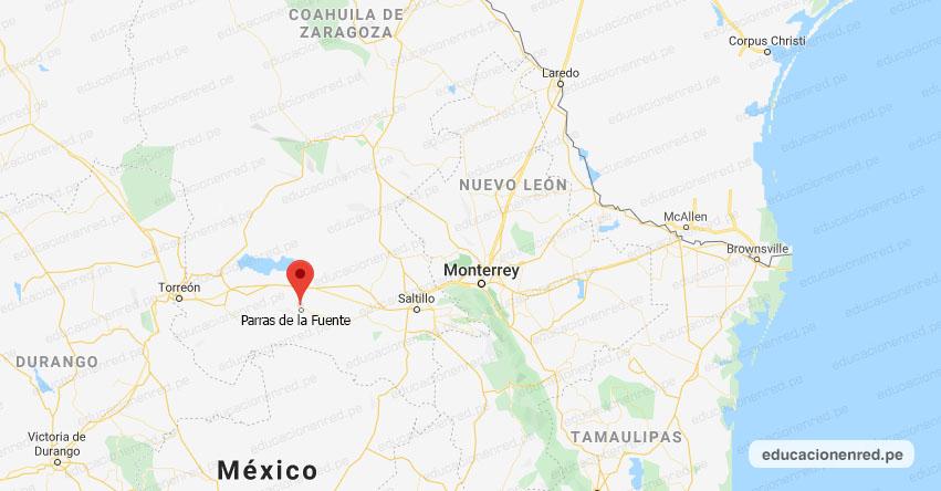 Temblor en México de Magnitud 4.2 (Hoy Sábado 06 Febrero 2021) Sismo - Epicentro - Parras de la Fuente - Coahuila de Zaragoza - COAH. - SSN - www.ssn.unam.mx
