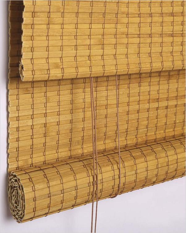 Bamboo Window Blinds Home Interior Exterior Decor Design Ideas