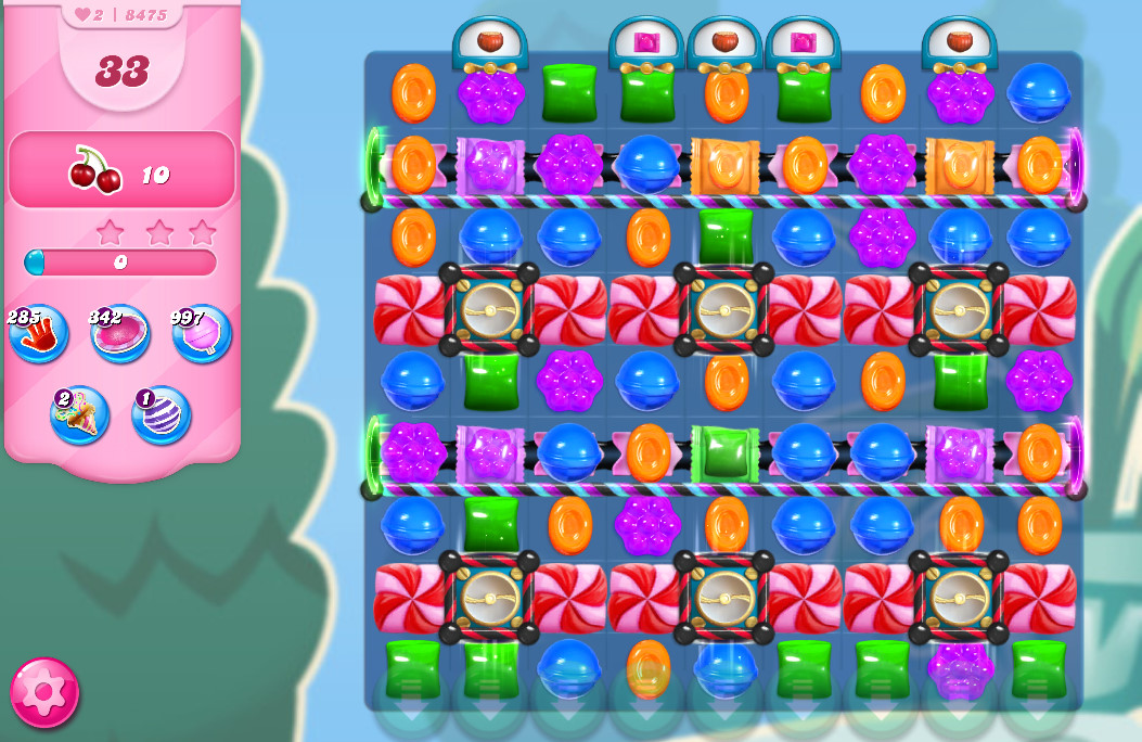 Candy Crush Saga level 8475