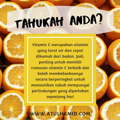 Fungsi Vitamin C Pada Tubuh Yang Perlu Diketahui