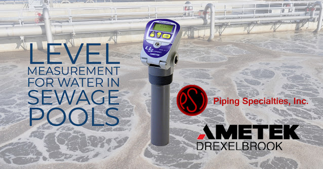 Level Measurement for Water in Sewage Pools