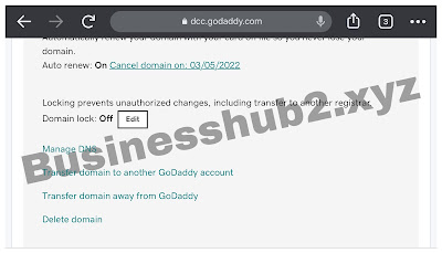changing dns record on godaddy