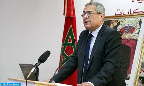 تارودانت : وزير العدل يشرف على تدشين المركز القضائي بأولاد تايمة