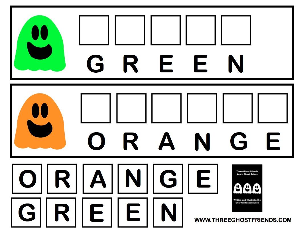 Free 1st Grade Spelling Worksheets