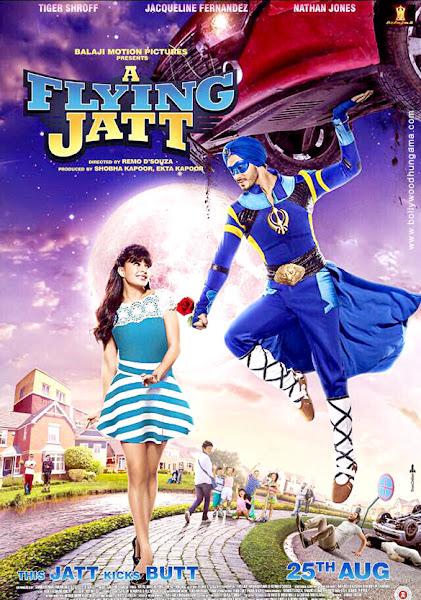 A Flying Jatt (2016) Movie Poster