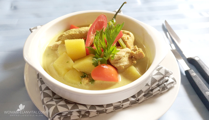 Curried Chicken with US Potatoes