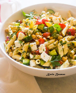 Cold Pasta Salad for summer? try this delicious one