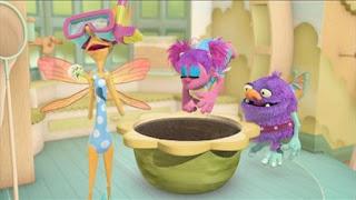 Abby's Flying Fairy School Blögg's Sense of Sludge, Abby Cadabby, Blögg, Gonnigan, Mrs. Sparklenose, Sesame Street Episode 4405 Simon Says season 44