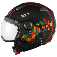 Helm KYT Elsico Seri 5 Black