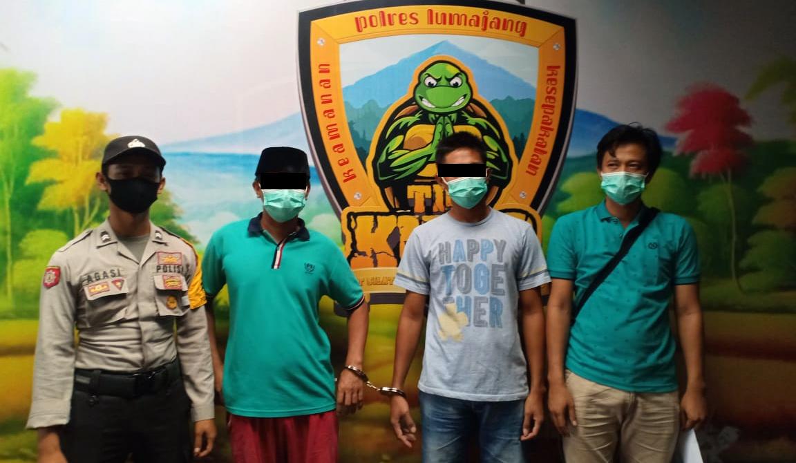 Polsek Kota Tangkap 2 Pelaku Sabu