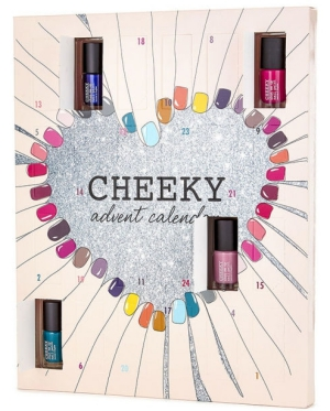 Cheeky Nail polish beauty Advent calendar 2016 calendrier de l'avent Adventskalender