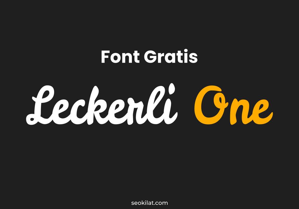 Font Gratis untuk Komersial Gaya Handwriting