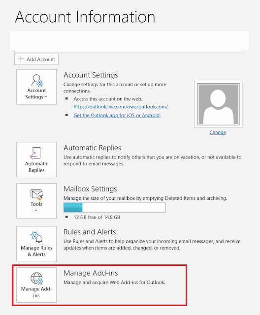 Set up WebEx meeting on Microsoft Outlook using Add-ins