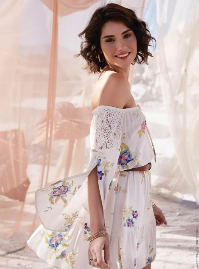 Blusas y faldas primavera verano 2020. Moda mujer primavera verano 2020.