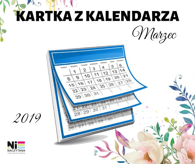 KARTKA Z KALENDARZA - MARZEC