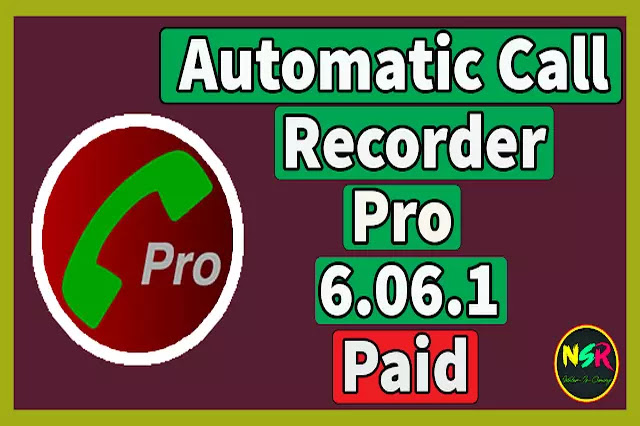 Automatic Call Recorder Pro Full Paid