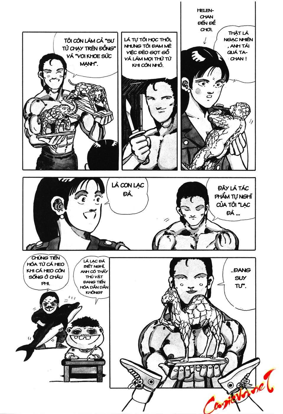 Chúa rừng Ta-chan chapter 7 trang 2