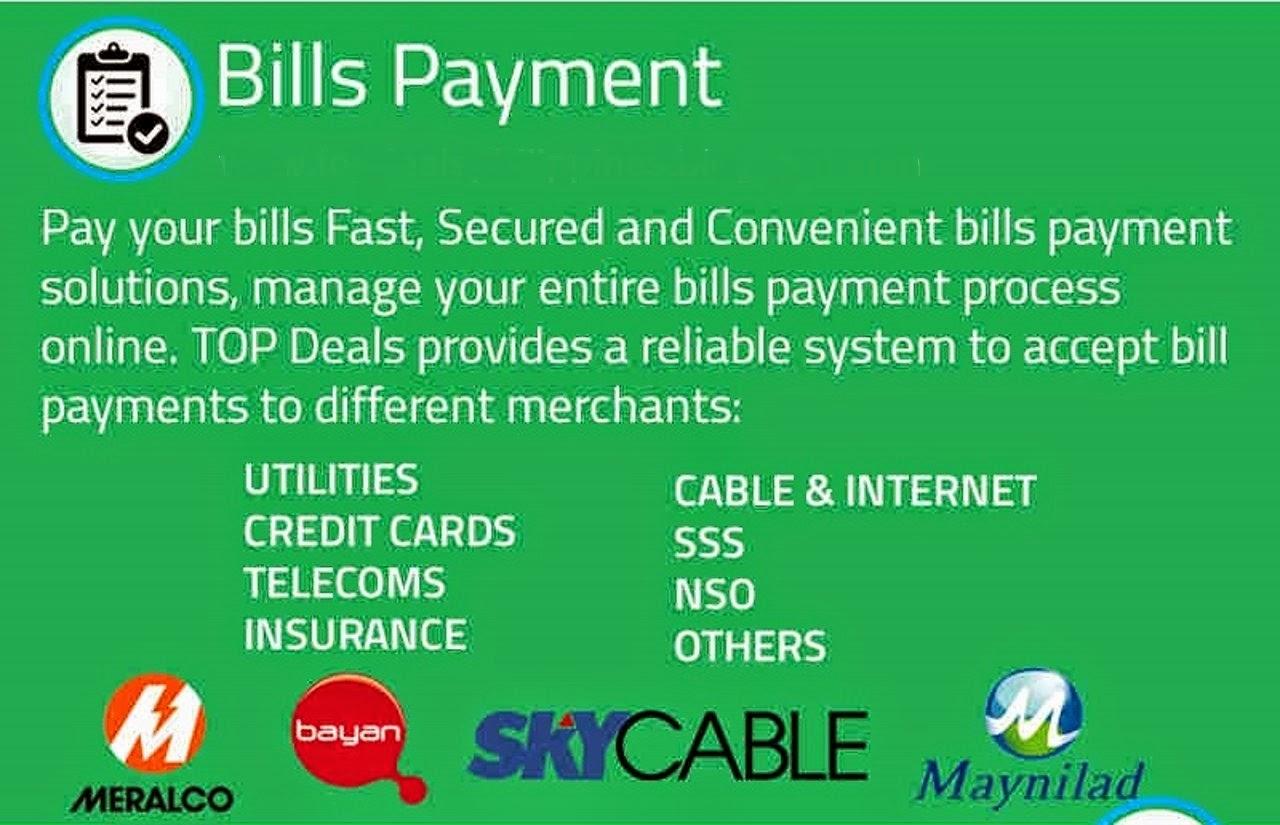 bill pay deals