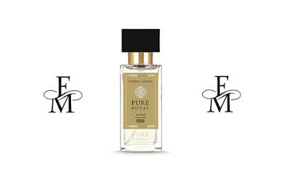 Perfumy FM PURE Royal 986 zapach orientalno drzewny dla kobiet i mężczyzn
